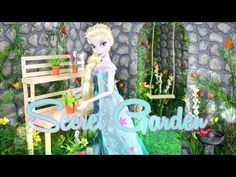 How to Make a Doll Secret Garden - Doll Crafts - YouTube