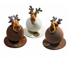 Christmas Day Custom Dessert - Page 47 of 48 - zzzzllee Chocolate Moose, Divine Chocolate, Chocolate Art, Chocolate Lovers, Chocolate Christmas Gifts, Christmas Sweets, Christmas Cooking, Xmas, Chocolate Showpiece