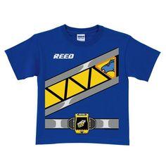 Power Rangers Dino Charge Blue Ranger T-shirt | Tv's Toy Box: