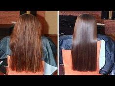 tratamiento casero para reparar el cabello maltratado - YouTube