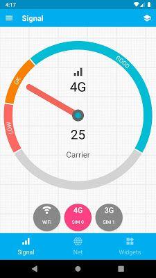 تحميل برنامج Signal Strength Apk للأندرويد مدفوع آخر إصدار Map Widget Map Screenshot