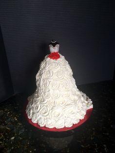 Wedding address themed Bridal Shower Cake