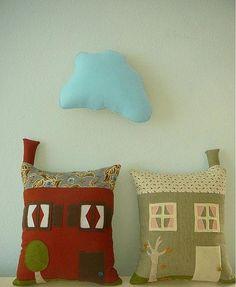 House pillows: