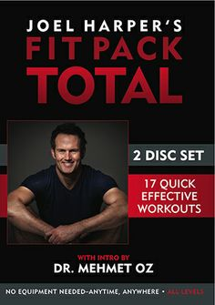 Joel Harper's Fit Pack Total DVD with 17 workouts | Healthy Holiday Gift | Organic Spa Magazine