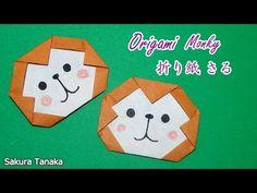Origami Monkey / 折り紙 猿(さる) 折り方 - YouTube