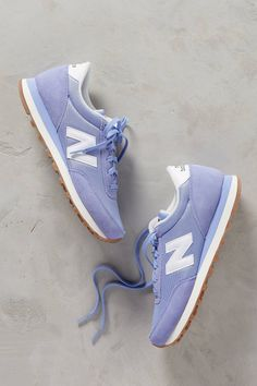 New Balance purples Suede Sneakers. Good for everyday shoes. New Balance Herren Sneaker, New Balance Sneakers, New Balance Shoes, Top Shoes, Cute Shoes, Me Too Shoes, New Balance Damen, Baskets, Latest Shoes