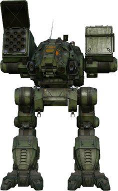 """Battletech """"Catapult""""heavy mech."""