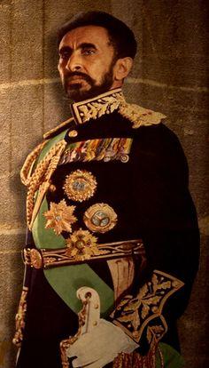 Negus Haile Selassie, Elect of God, King of Kings, Lion of Judah, decendant of Solomon-Born Rastafari Rastafarian Beliefs, Rastafarian Culture, African Dictators, Rastafari Art, Jamaican People, Lion Photography, Travel Photography, Ethiopian People, Hair