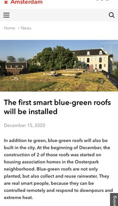 Amsterdam, Blue Green, The Neighbourhood, Construction, Mansions, House Styles, City, Building, Ideas