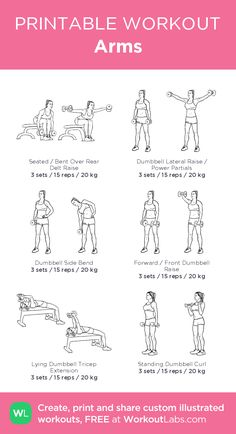 Workout plans, Basic and potent fitness inspirations. For other well planned to superb fitness workout for anyone piece, view this planning reference 9705624814 today. Planet Fitness Workout Plan, Gym Workout Plan For Women, Fitness Workouts, At Home Workouts, Workout Plans, Barbell Workout For Women, Bicep Workout Women, Arm Workout Women With Weights, Chest Workout Women