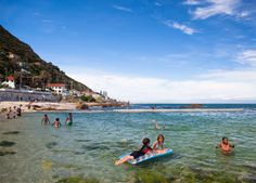 St James & Kalk Bay - perfect for little swimmers. #Africa #SouthAfrica #CapeTown