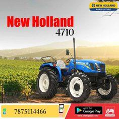 New Holland 4710 ✔️HP: 47HP ✔️No. of cylinder: 3 Cylinder ✔️Gear Box Type: 8 Forward + 2 Reverse पूरी जानकारी मिलेगी यहाँ ➡️ #KhetiGaadi #NewHolland4710 #NewHollandAgriculture #TractorPrice