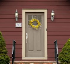 Color expert, Sue Wadden, selects the 5 most welcoming exterior color combinations. View Now>. It is super easy to have … Exterior Color Combinations, Exterior Paint Schemes, Exterior Siding, Exterior Remodel, Colonial Exterior, Exterior Design, Cottage Exterior Colors, Exterior Paint Colors For House, Siding Colors
