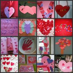 20 #Valentine crafts for kids - perfect for winter days inside