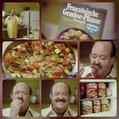 Passend zur EM in Frankreich gibt es heute den kultigen TV-Spot zu Dr. Oetkers französischer TK-Gemüse-Pfanne von 1976. #throwbackthursday #tbt