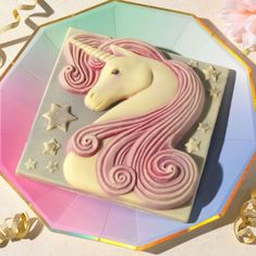 Make that special moment truly magical with our gloriously girly chocolate unicorn. Decorated with a flowing pink mane, and bordered with twinkly chocolate stars, this handmade white-and-dark chocola. Chocolate Stars, Chocolate Pizza, Chocolate Gift Boxes, Belgian Chocolate, White Chocolate, Whole Milk Powder, Handmade Chocolates, Square Cakes, Unicorn Gifts