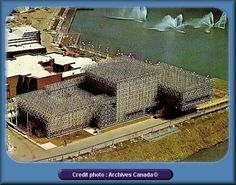 Pays Bas Expo 67 Montreal, Montreal Ville, Montreal Quebec, Big Show, World's Fair, Netherlands, Dutch, Architecture, Hui