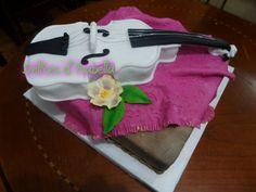 Torta violin...dulzura hecho pastel