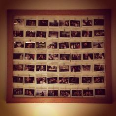 Polaroid display