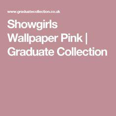 Showgirls Wallpaper Pink   Graduate Collection Burlesque Theme, Unique Wallpaper, Metallic Pink, Showgirls, Designer Wallpaper, Digital Illustration, Collection, Actresses