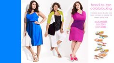 Clothes for the plus-sized fashionista!