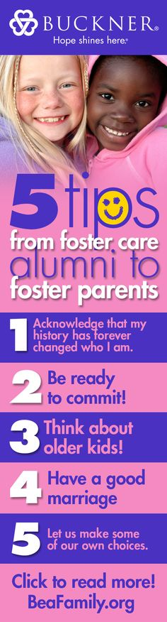 5 tips from foster care alumni to foster parents