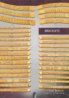 Vikas Chain & Jewellery Pvt. Ltd. Gents Bracelet, Mens Diamond Bracelet, Mens Gold Bracelets, Mens Gold Jewelry, Gold Chain Design, Gold Jewellery Design, Gents Gold Ring, Gold Bracelet Indian, B 13