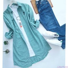 Girls Fashion Clothes, Teen Fashion Outfits, Modest Fashion, Trendy Outfits, Trendy Fashion, Plaid Fashion, Summer Outfits, Stylish Dresses For Girls, Stylish Dress Designs