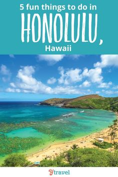 Honolulu Travel Guide - if you are planning a trip to Hawaii, check out this guide on things to do in Honolulu, Oahu.  Everything you need to know to plan your Hawaii vacation - advice on what to see and do, amazing food and restaurants, the best beach, where to eat, hotels and resorts, and much more. Don't miss these Honolulu travel tips! #Honolulu #Hawaii #Oahu #travel #familytravel #vacation #traveltips