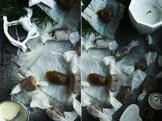 Delicious blog: Slané kokosové karamely