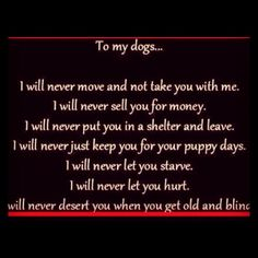 For every pet owner... I love my Maddie, Max, Jackson, Dan and Princess