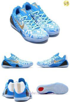 Blue / White Nike Kobe IX 9 EM XDR 646701-414