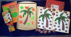 Chicka Chicka Boom Boom Flannel Board and Felt Set Literacy Bag