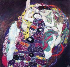 The Virgin - Gustav Klimt - WikiPaintings.org