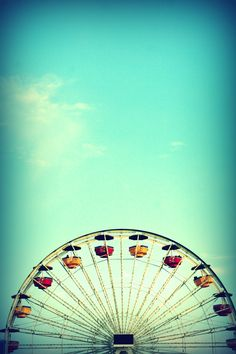 there's something magical about ferris wheels