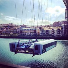 #puentecolgante#bridge#learnspanish#apprendrelespagno#pontsuspendut#architecture#travel#port#boat#international#ocean#coast#verrano#instutohemingway#getxo#portugalete#paisvasco#basquecountry