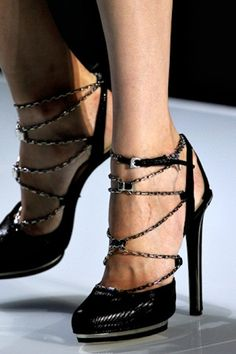 To die for! Christian Dior Spring 2012 #shoes #heels #platforms #sandals #dior