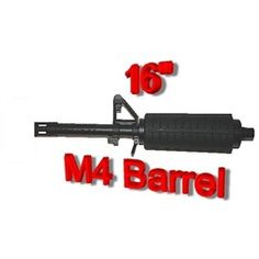 3Skull Paintball 16'' M16 Combat Barrel - Tippmann X7. Available at UltimatePaintball.com
