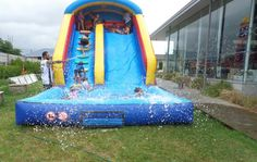 Waterslide hired for my girls bday.
