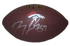 Denver Broncos Danny Trevathan signed NFL Wilson full size football w/ proof…