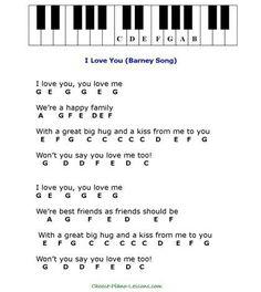 Barney Song