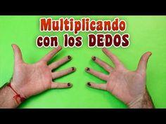 Método para aprender las tablas de multiplicar muy fácil - YouTube