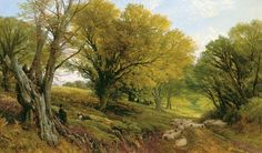 'In Pastures Green', by Frederick William Hulme.