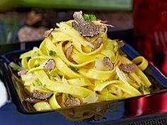 Hausgemachte Trüffel-Pasta