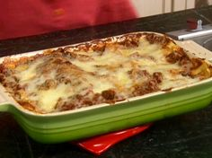 Lots O'Meat Lasagna from FoodNetwork.com - Paula Deen