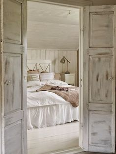 Gain designer inspiration for the most intimate room in the house and find everything you need to bring comfort and style to your bedroom. Think bespoke mattresses, linen, bedroom furniture and accessories. Room, House, Interior, White Home Decor, Home, Gorgeous Bedrooms, Barn Bedrooms, White Houses, Bedroom Inspirations