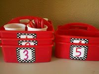 classroom supplies easy way to label buckets