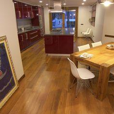 Kitchen parquet floor  Kitchen project entierly handmade. Material used: parquet #kitchen #parquet #interiordesign #style #project #decor #architecture #design #designer #moderndesign #furniture #cabreuva #difrosciasnc #madeinitaly