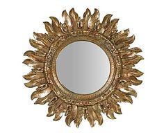 "Nástěnné zrcadlo ""Vasto"", Ø 43 cm, tl. 2 cm"
