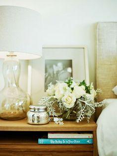 {nightstand styling}